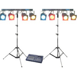 Lichtset 3 DMX-0