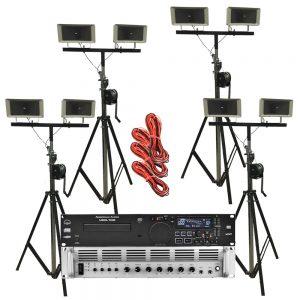 Omroep installatie 100V - Set 2