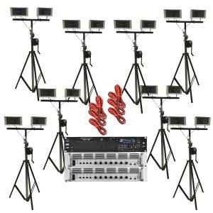 Omroep installatie 100V - Set 3
