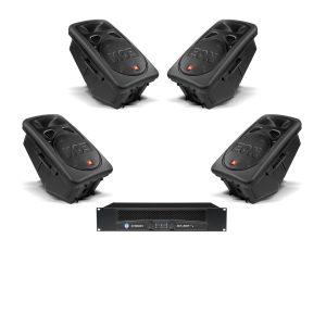 Monitorset 2, 4 luidsprekers-0