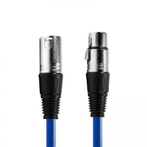 XLR kabel 2,5 meter audio