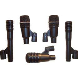 Drumkit, 5-delige microfoon set