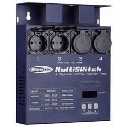 (UA) Switchpack 4 kanalen, DMX, licht