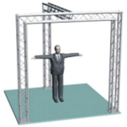 Promo Stand T-model
