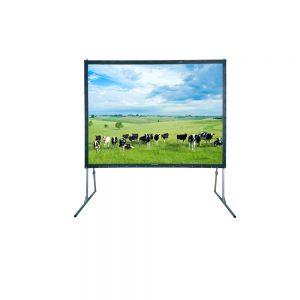 Projectiescherm 200 x 150 cm, fastfold