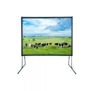 Projectiescherm 240 x 180 cm, fastfold