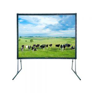Projectiescherm 305 x 220 cm, fastfold