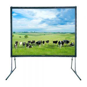 Projectiescherm 400 x 300 cm, fastfold